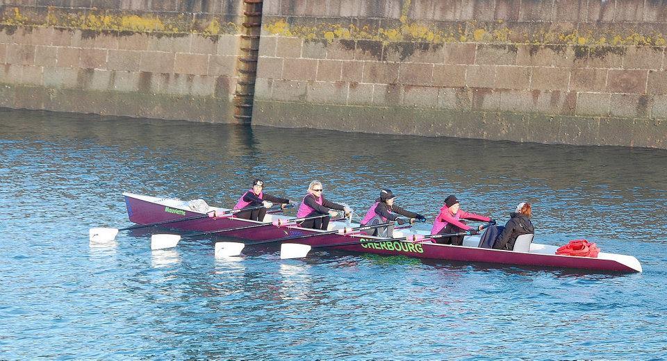 Les Demoiselles de Cherbourg à l'entrainement (hiver 2013)